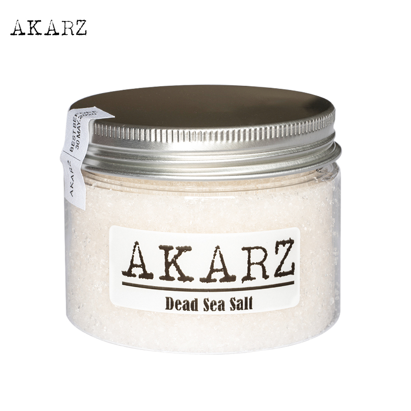 AKARZ Brand 100% Pure Mineral Dead Sea Salt Origin Jordan Fine Grain Relieving Psoriasis Eczema And Acne Skin Body Care