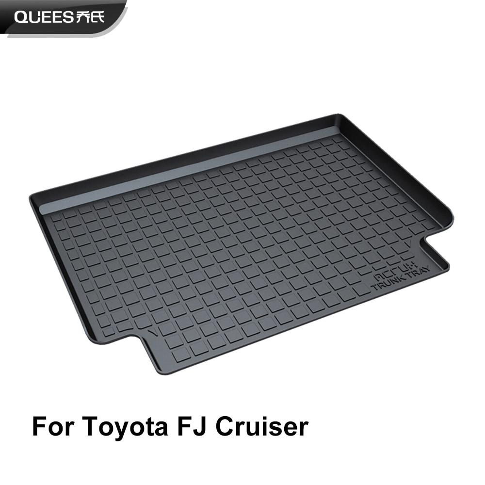 QUEES Custom Fit Cargo Liner Trunk Floor Mat for Toyota FJ Cruiser 2012 2013 2014