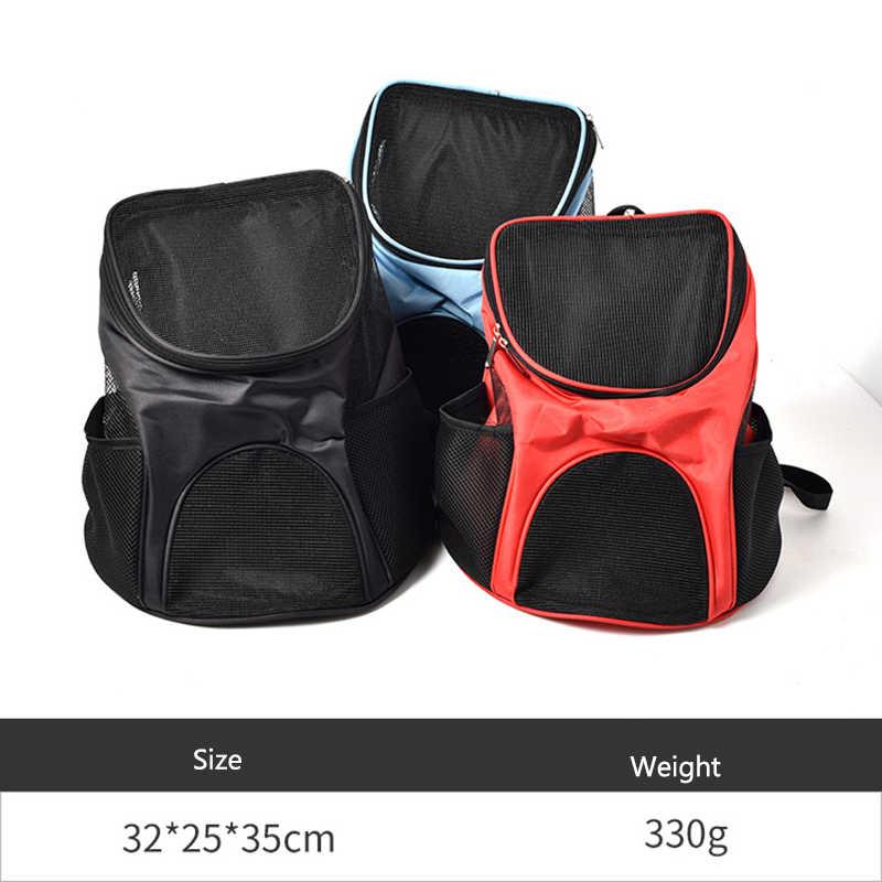 Köpek çantası nefes köpek sırt çantası büyük kapasiteli kedi taşıma çantası taşınabilir açık seyahat evcil hayvan taşıyıcı