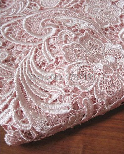 selling by the yard Elegant Gold Victorian Venise  Embroidery lace trim