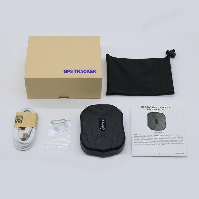 TKSTAR TK905 2G 3G GPS Tracker Car Magnet 90 Days GPS Tracker 3G GPS Locator Waterproof Vehicle Voice Monitor Free APP PK TK915 6