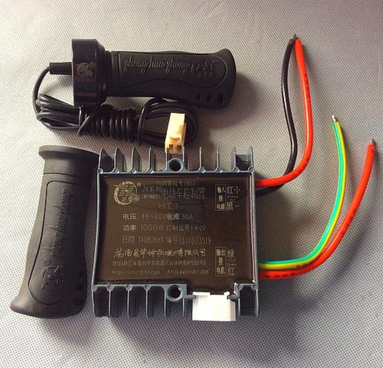 Free Shipping   YK43B  60V  1000W   Electric  bicycle   Motor  Brush Controller for Series motor терминал rj45 neutrik ne8fdv yk b