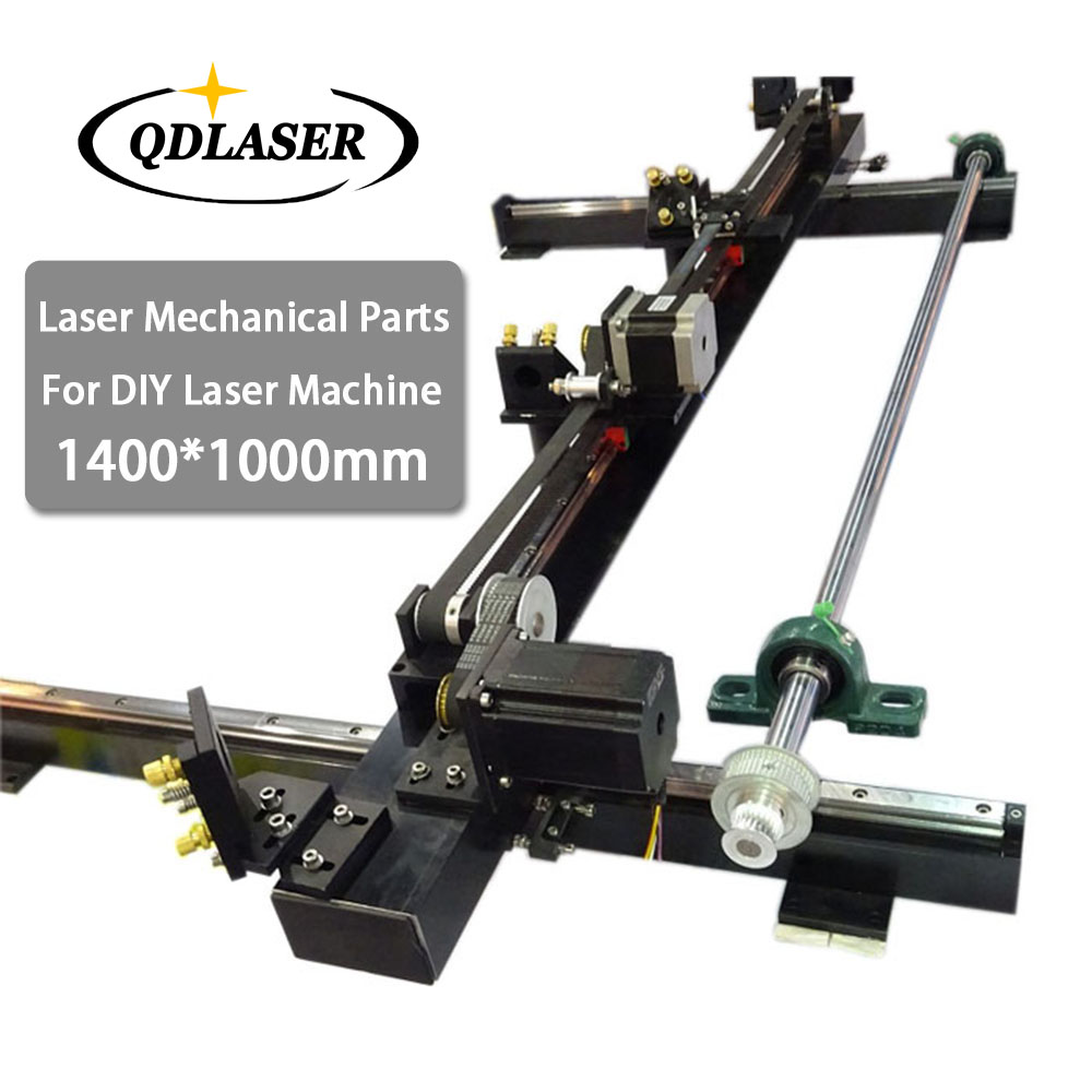Laser Cutting Machine Spare Parts Set 1400mm*1000mm Single Head for Co2 Laser Mechanical Parts ce certificated jinan acctek cheap hot sale laser machine spare parts
