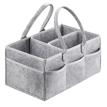 Hot!! Baby Diaper Caddy Organizer Portable Holder Bag for Changing Table and Car, Nursery Essentials Storage bins