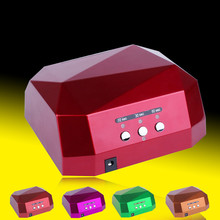 36W UV Lamp Nail Dryer UV LED Lamp for Nails Gel Dryer Nail Lamp Diamond Shape Curing for UV Gel Polish Nail Art