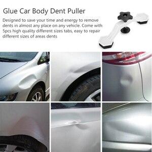 Image 2 - Corpo do carro auto dent pit repair tool kit removedor ponte cola extrator levantador com 5pcs guias de cola painel paintless mini pequenas ferramentas