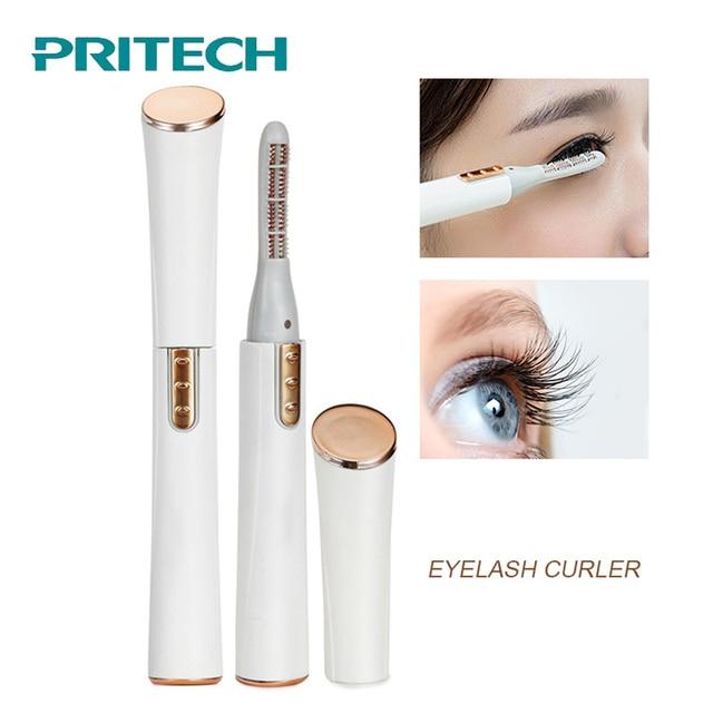 PRITECH Electric Eyelash Curler Pen Battery Powered Longer Thicker Eye Lash Curling Enhancer Makeup Tool Dropshipping #LD-7006 1