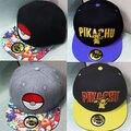 Pokeball Pokemon Ir ash ketchum boné de beisebol do chapéu chapéu Squadra Valor Místico Instinto Cappello Uomo Unisex