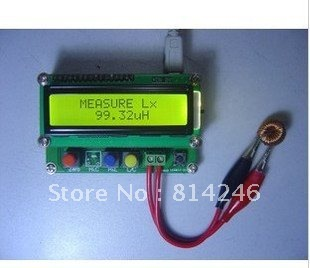 Free shipping !!! 100% New  LC100-A, inductance capacitance meter