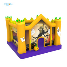 2017 New Inflatable Trampoline Air Bounce House With Kids Jumper Inflated Bouncing Castle Sport Multi-Function Playgound