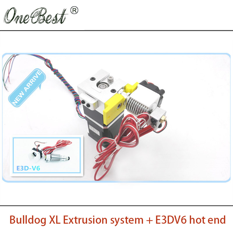 2017 New 3D Printer Extruder E 3D V6 bulldog XL Extrusion System Suite Replace MK8 Heating Head J-head E 3D V5 Free Shipping motorcycle sprocket 42 teeth 530 chain for yamaha yzf r1 1998 1999 2010 2007 2008 fz1 2006 2008 2009 2010 2011 2012 2013 2014