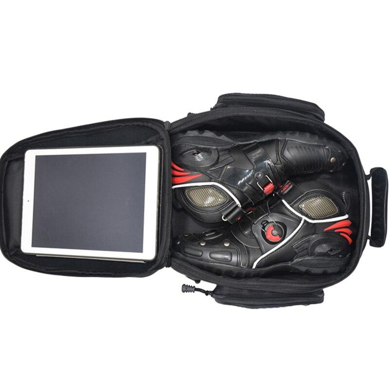 US $65 99 |MOTRAVEL Motorcycle Magnetic Oil Fuel Tank Bags Multifunction  Tool Bag Motorcycle Riding Racing Travel Luggage Handbag Tail Bag -in Tank