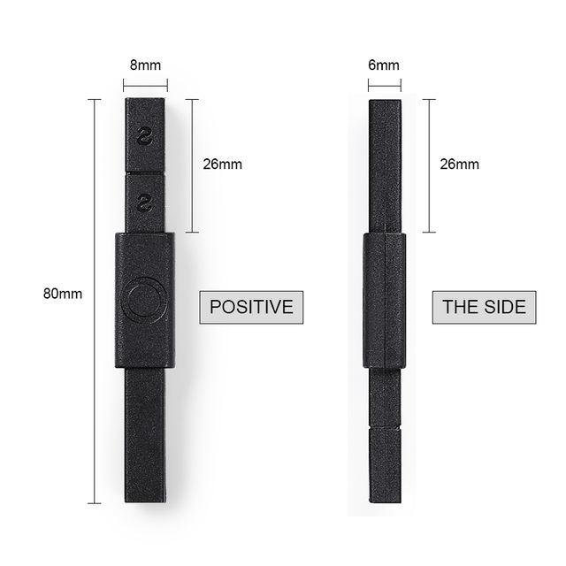 LILYCUTE Multi-Function S shape Double-ended 3D Magnet Stick for Cat Eye UV Gel