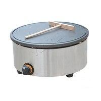 Gas Type Crepe Maker/Gas Pancake Maker/Pancake Pan/Commercial Pancake Maker/Non stick Crepe Maker FY 420.R