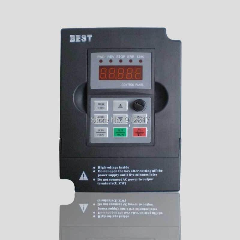 220 V 380 V 2.2kw meilleur variateur de fréquence VFD variateur de fréquence pour moteur de broche