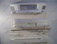 FRP Fiber Glass DL Style Bodykit Fit For 1995 1998 Nissan Skyline R33 GTST Body Kit Front & Rear Bumper Cover Side Skirt