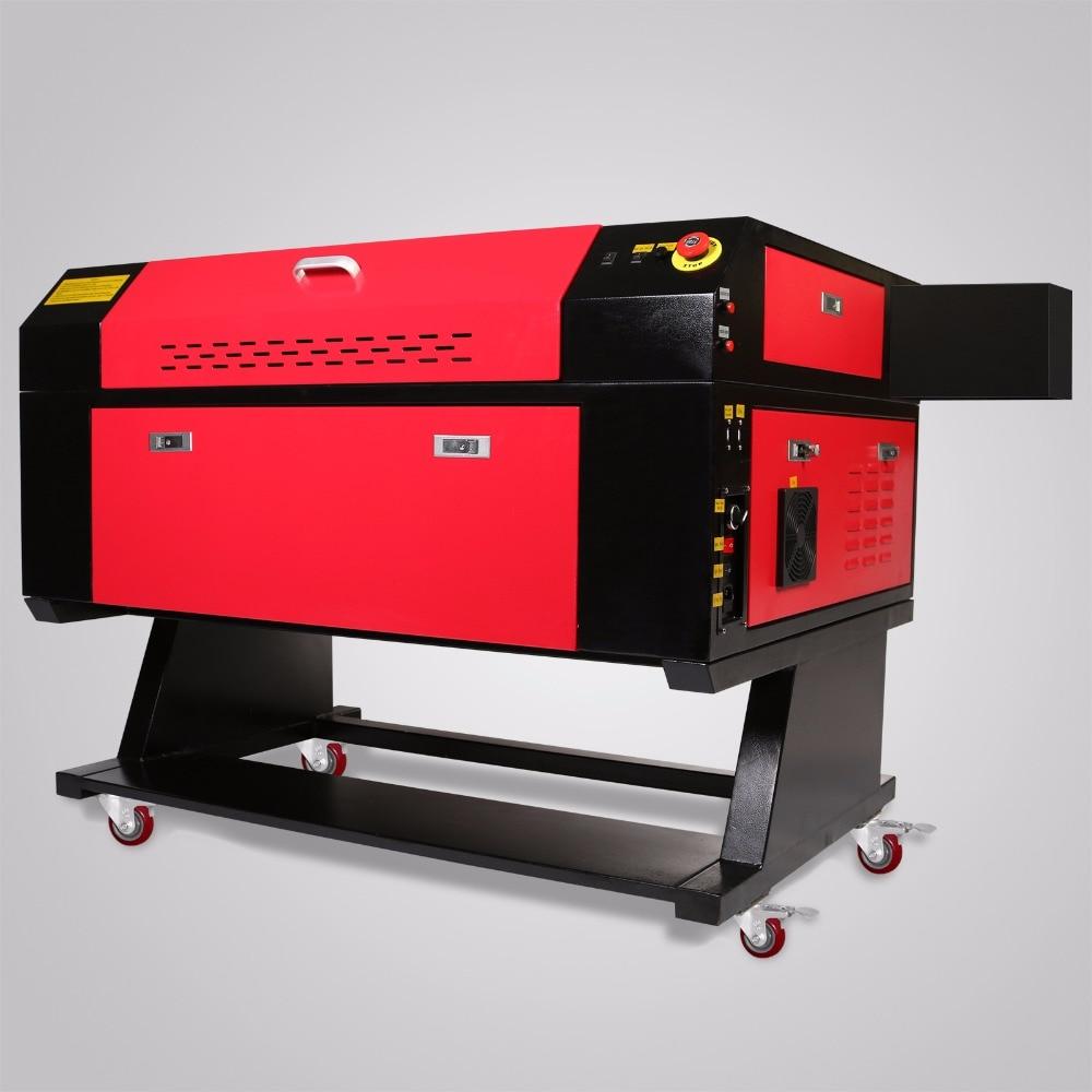 Ue livraison gratuite Co2 laser gravure machine cutter CNC laser graveur bricolage 700*500mm