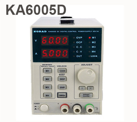 KORAD KA6005D -Precision Variable Adjustable 60V, 5A DC Linear Power Supply Digital Regulated Lab Grade uni t utp3305 dc power precision variable adjustable supply supply digital regulated dual