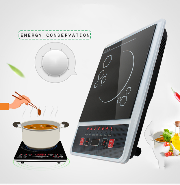 Portable Digital Electric Induction Cooktop Countertop Burner Cooker 2000w 110v