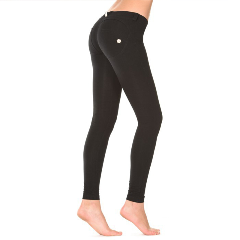 Sport Women Fitness Peach Hip Yoga Pants Running Pants Boo High Stretch Tight Trousers of Quick Dry Female in Yoga Pants from Sports Entertainment
