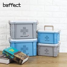 Baffect многослойный семейный медицинский металлический медицинский ящик для хранения первой помощи медицинский сбор