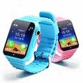 Novo Bluetooth Inteligente Relógio Criança V7k Apoio Anti Perdido/monitor de Sono/pedômetro Rastreador GPS Crianças Assistir para Crianças