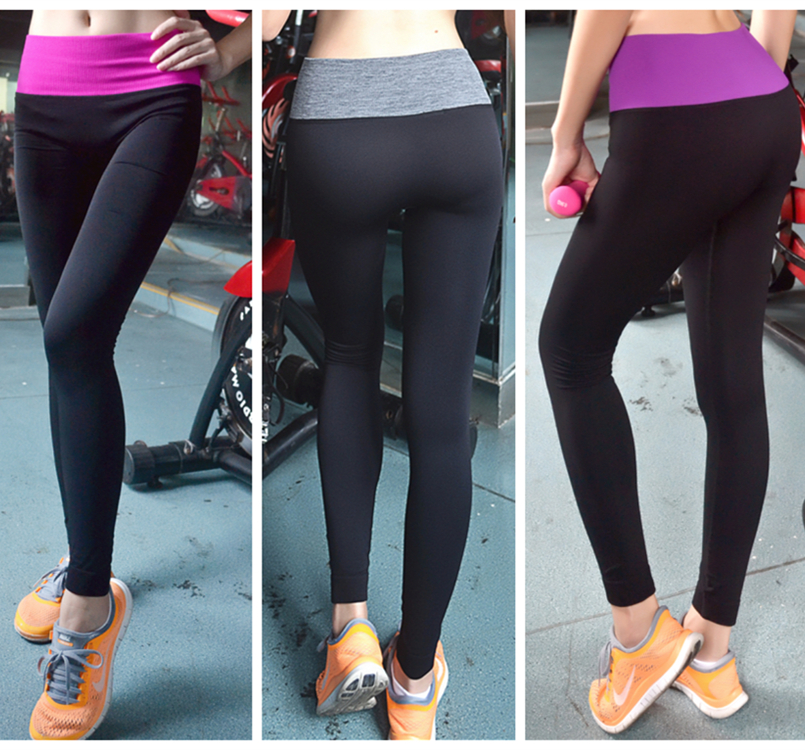 Aliexpress.com : Buy yoga pants exercise women nylon elastic ...