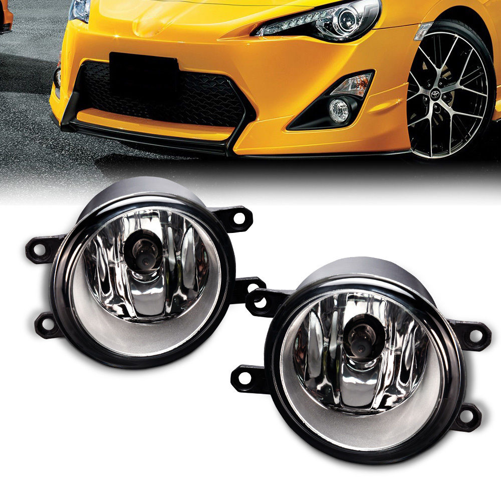 2pcs Fog light Lamp Left + Right Set For Toyota Camry Corolla Yaris RAV4 Lexus GS350 GS450h LX570 HS250h IS-F LX570 RX350 RX450h car front bumper fog lamp lights for toyota yaris camry avensis rav4 corolla highlander matrix prius for lexus rx270 lx570