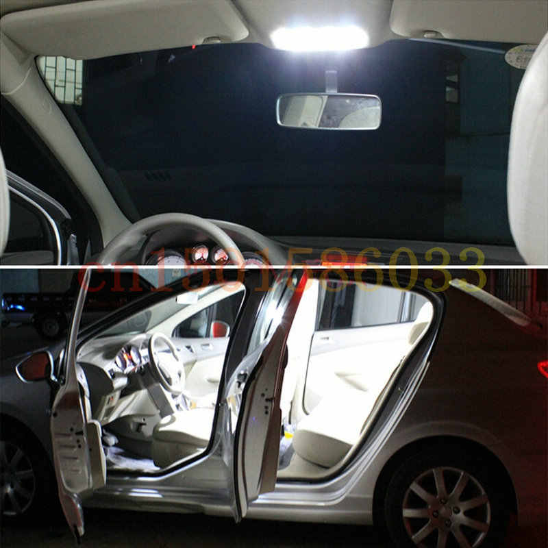 Xe Ô Tô Chiếu Sáng Nội Thất Xe Volkswagen 2008 Passat C3 B6 Tự Động Xe Hơi Ô Tô Đèn Led Nội Thất Mái Vòm Đèn Bóng LED Cho Xe Ô Tô T10 w5W 11 PC