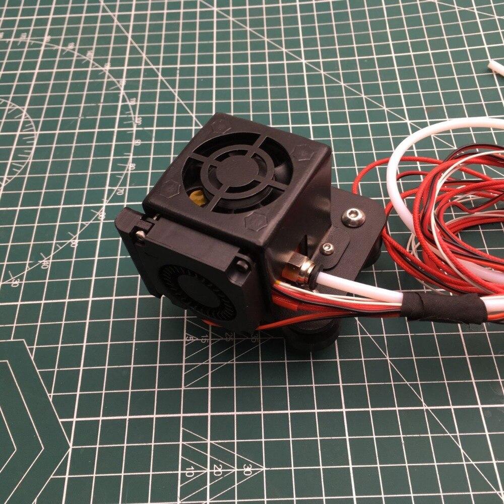 CR-10/Ender Complet Assemblé Extrudeuse x transport Kits Avec métal Ventilateur conduit Couverture hotend Kits pour CR-10 Série 3D imprimante Pièces