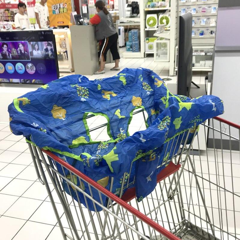 ALWAYSME Универсальный Детский 2-в-1 чехол для детской коляски чехол для стульчика для малышей ресторанный стульчик для кормления динозавры дешевле - Цвет: Ocean Animals