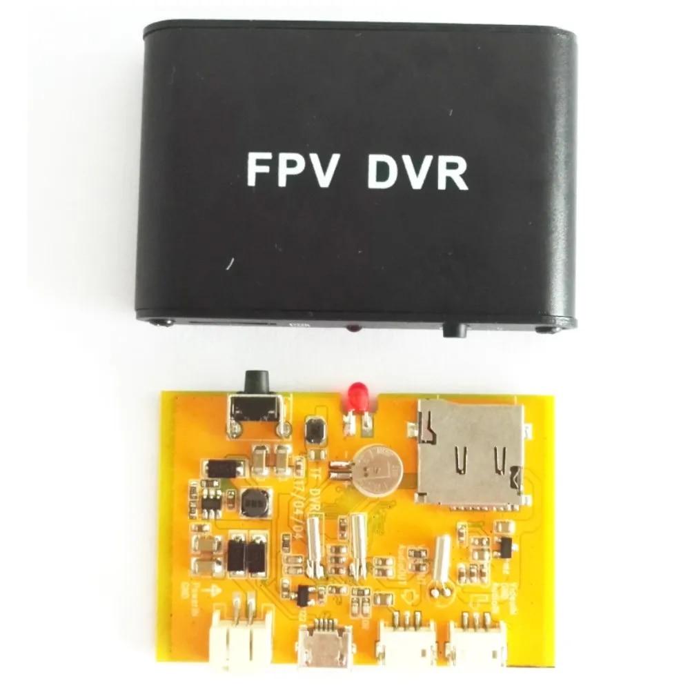 FPV DVR Micro D1M 1CH 1280x720 30f/s HD DVR FPV AV рекордер поддержка 32G TF карта работает с CCTV аналоговой камерой