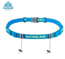 AONIJIE Running Waist Belt Triathlon Marathon Race Number With Gel Holder Cloth Motor Outdoor