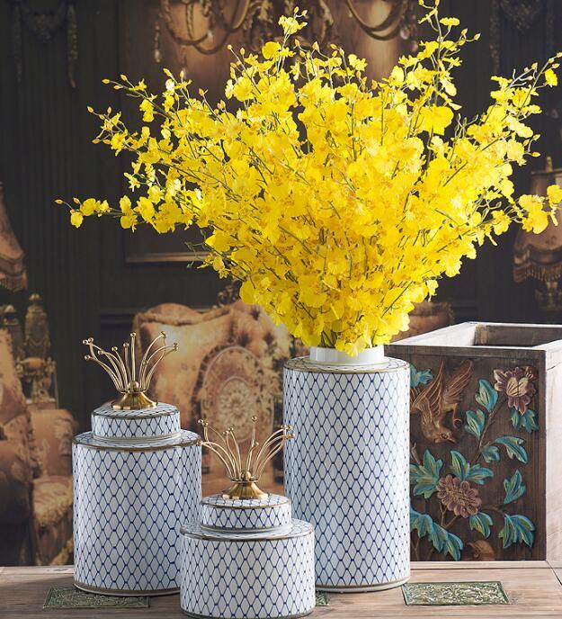 moderno fiori artificiali-acquista a poco prezzo moderno fiori