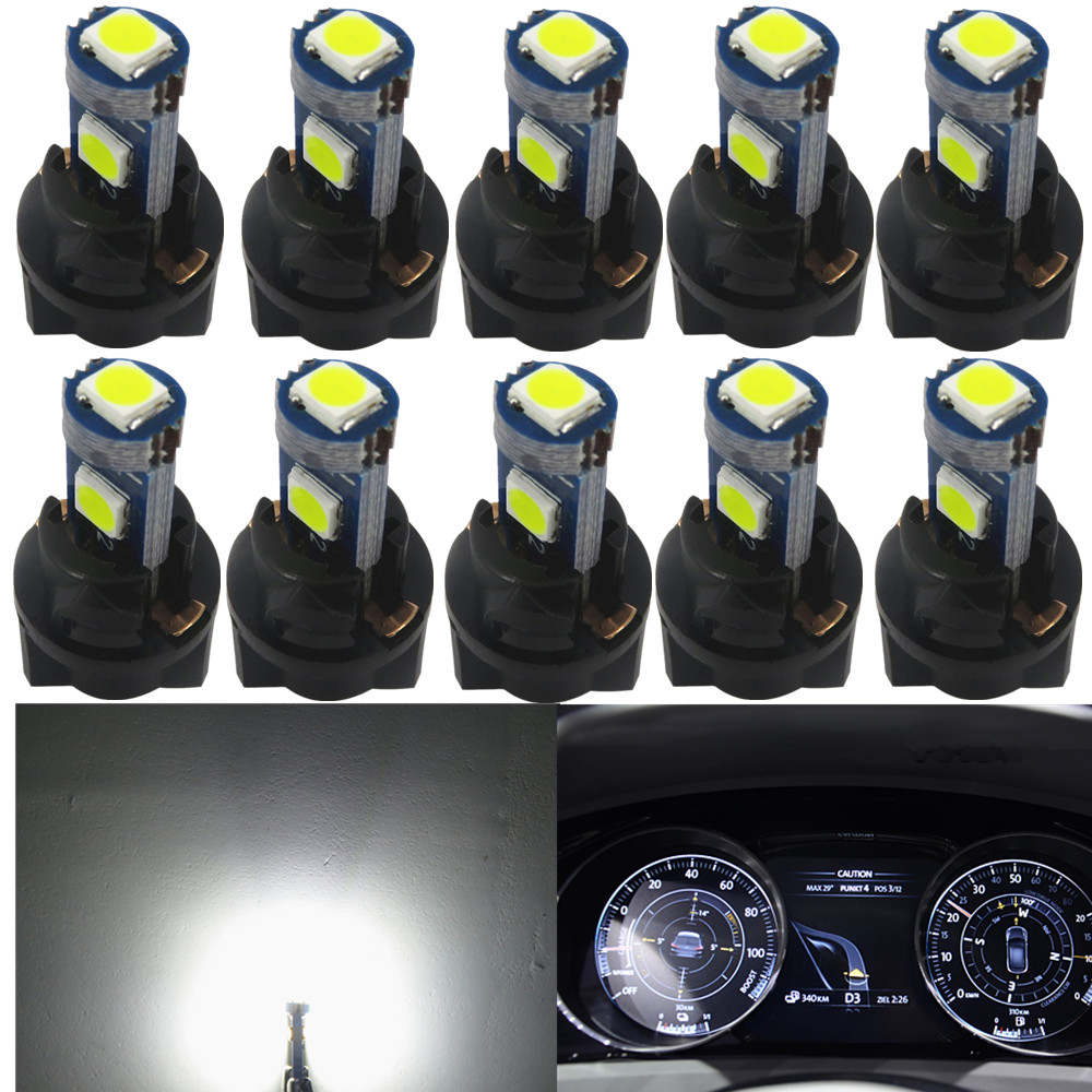 6x 194 Instrument Panel Cluster Light Bulb Lamp Dashboard Sockets Plug For Lexus