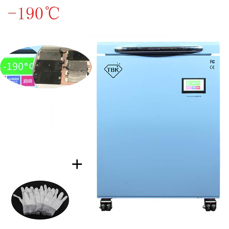 190C LCD Freezing Machine TBK 588 Frozen Separator Instruments LCD Touch Screen Separating Machine For smasung S6 S7 S8 edge