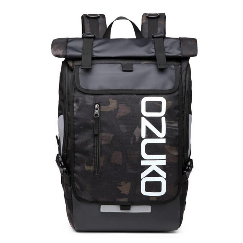 OZUKO Backpack Men s Designer Laptop Backpack High Quality Waterproof large 15 6 Inch Notebook Anti