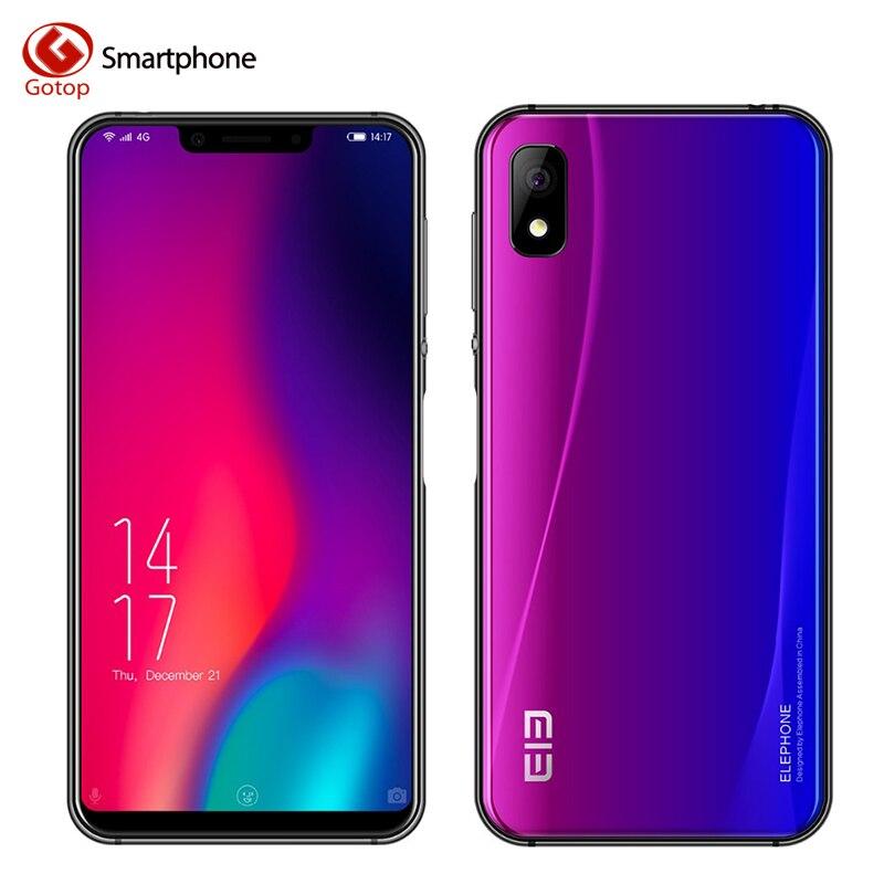 Elephone A4 Pro MT6763 Octa Core сотовый телефон HD + Экран 5,85 дюймов Android 8,1 смартфон 4G B Оперативная память 6 4G B Встроенная память 16MP 4G LTE Мобильного Телефона