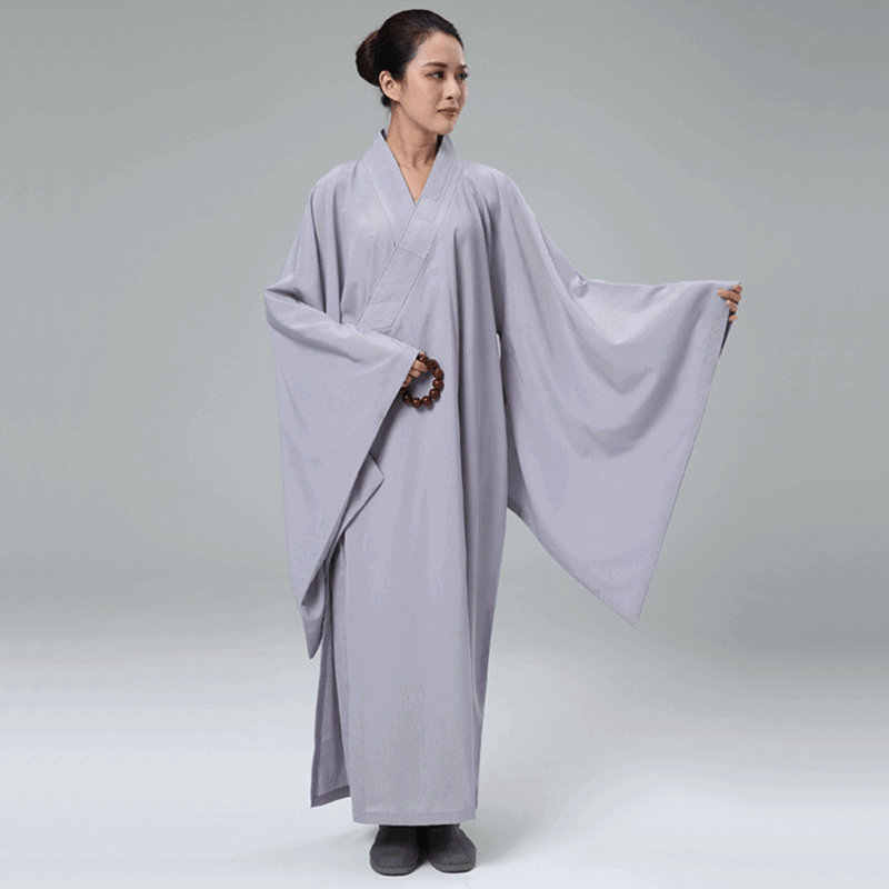 僧侶のローブ女性制服禅服少林寺僧の服僧侶衣装女性レイ TA527