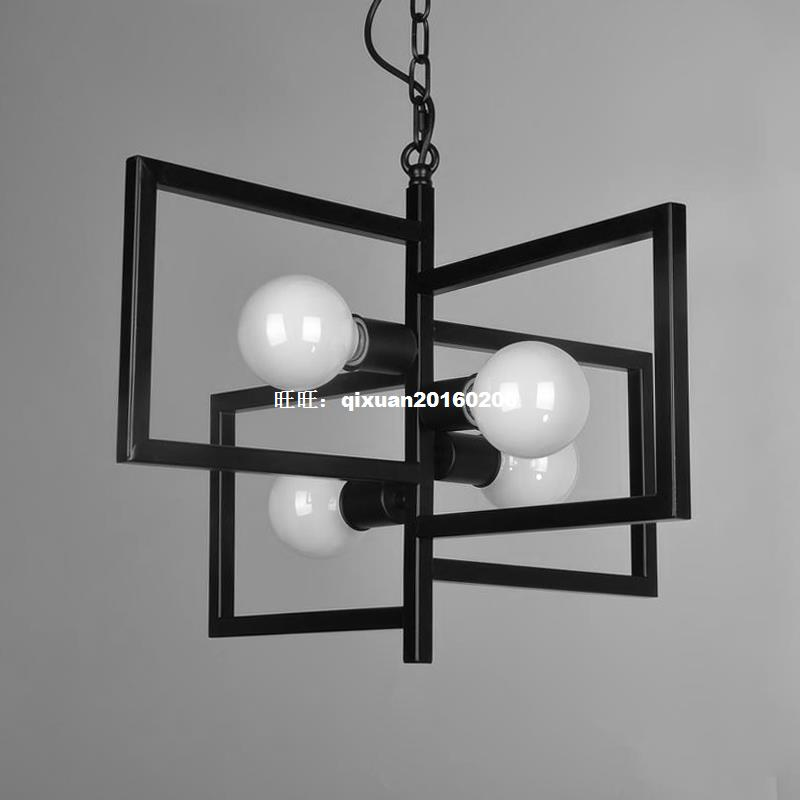 American Village Light Industry Retro-Stil Kronleuchter - Innenbeleuchtung - Foto 2