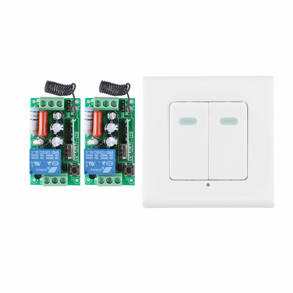 Digital Power Switch : Digital remote control switch ac v receiver wall