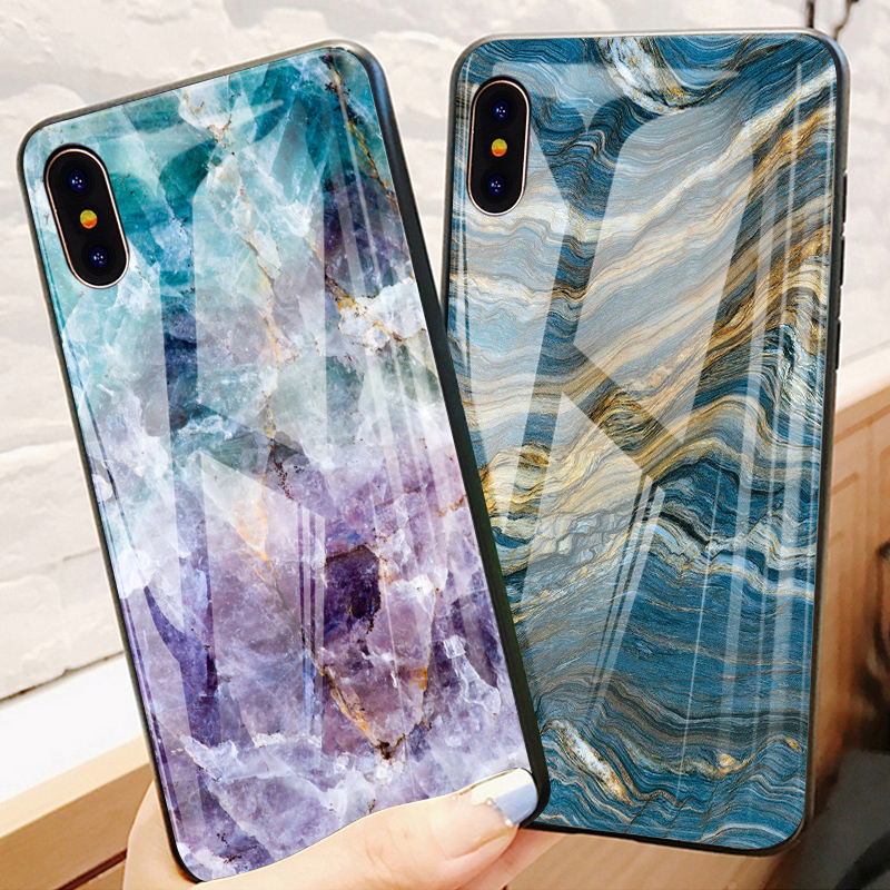 coque iphone x marble