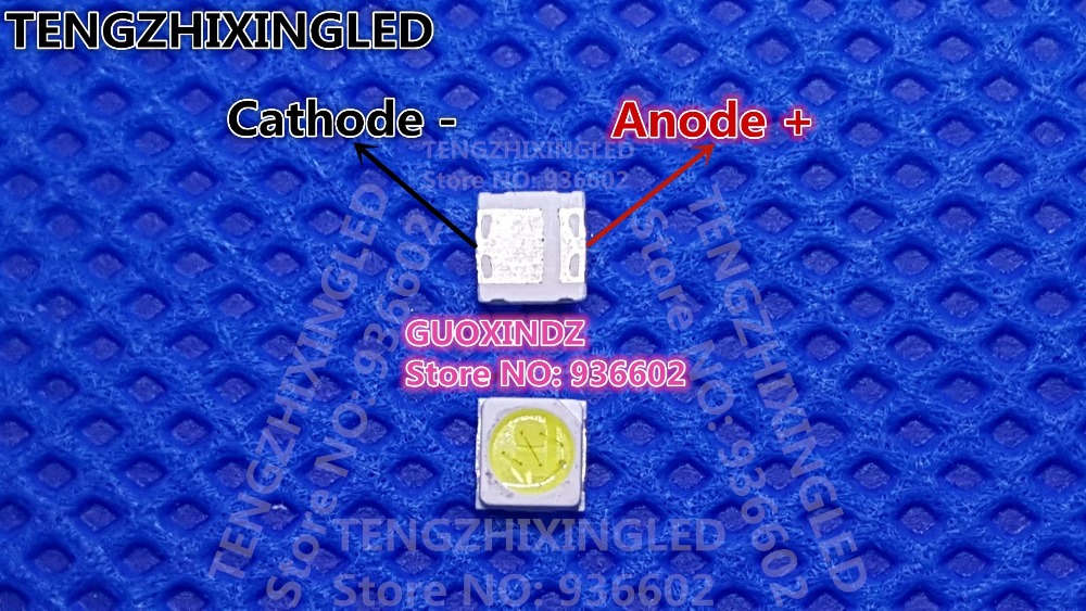 EVERLIGHT LED Backlight High Power LED 1 2W 3030 6V Cool white 130 155LM TV Application