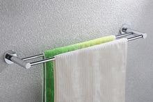 Livraison gratuite laiton Chrome fini Double barre de serviette, Salle de bains porte – serviettes de produit, Porte – serviettes CB008G-1