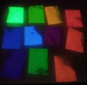 Image 3 - 10g glow in the dark pulver leucht pigment Hohe Helligkeit Leucht Pulver, glow in the Dark Pulver Pigment, 12 farben