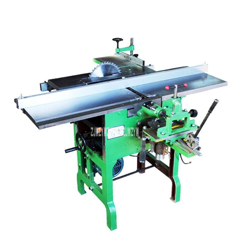 Ml393 máquina-ferramenta polivalente plaina/motosserra/elétrica plaina de madeira desktop máquinas para trabalhar madeira 220 v/380 v 2.2kw 6.5 m/min