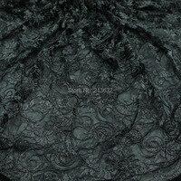 POd20-25 tule voile organza textiel stof geborduurde stof groothandel kleding textiel doek computer borduurwerk verwerking