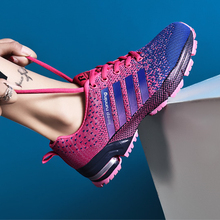 2019 Mlcriyg Hot Couple Sport Running Shoes Unisex Light Breathable Mesh Male Shoes Plus Size Walking Footwear Sport Sneakers