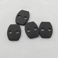 For toyota corolla 2008 2013 2014 2015 2017 2018 accessories plastic clips Car Door Lock Cover Buckle 4pcs