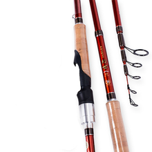 Cheapest prices Portable Carbon Fiber Spinning Fishing Rod Telescopic Fishing Pole Super Short Distance Throwing Fishing Pole Fishing Tackle